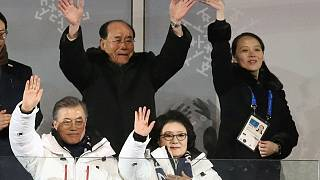 PyeongChang 2018 Kış Olimpiyatları görkemli bir törenle başladı
