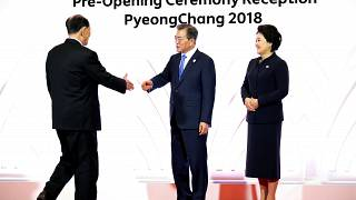Historischer Handshake