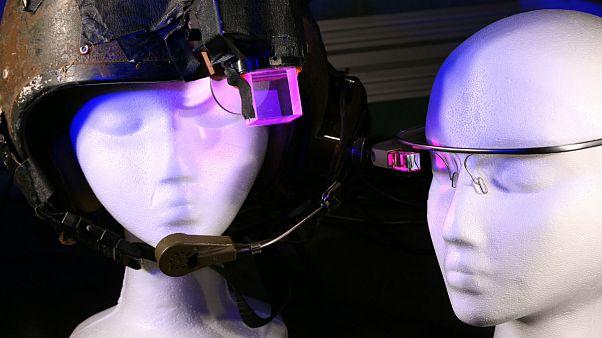 عینک ساخت شرکت گوگل