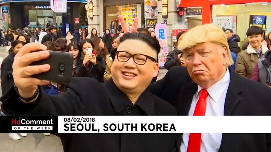 """شاهد أفضل """"بدون تعليق"""" لهذا الأسبوع: من سباق بالملابس الداخلية في صربيا إلى عرض عسكري بكوريا الشمالية"""