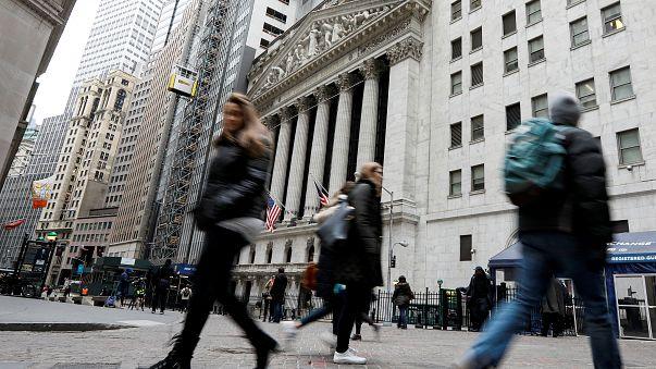 Mercados voláteis com epicentro em Wall Street