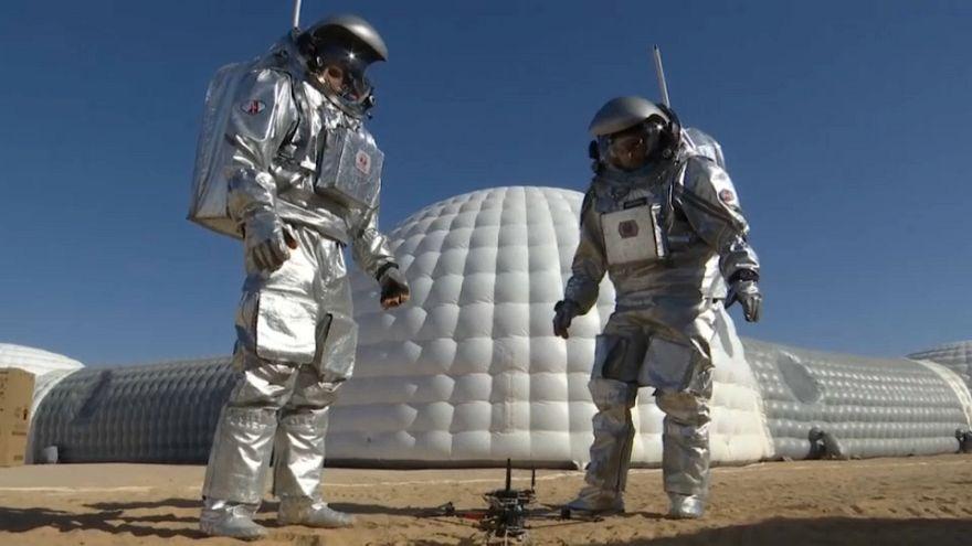 اسکان بشر در مریخ در کویر ظفار عمان شبیهسازی شد