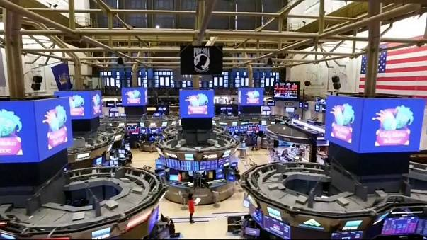 Montagne russe a Wall Street