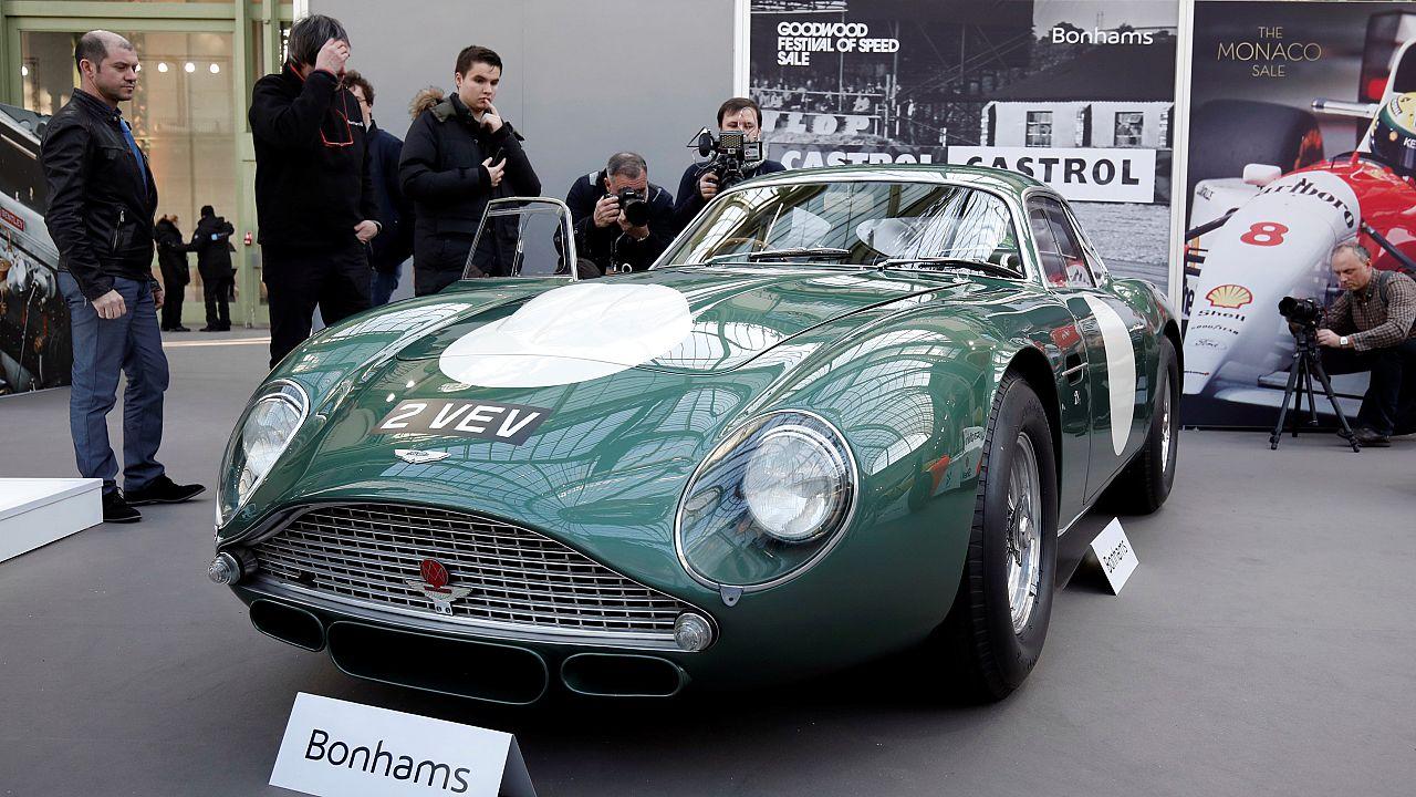 Mise aux enchères record d'une Aston Martin