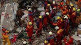 Les secours continuent à rechercher des survivants à Taïwan