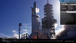 Elon Musk logra un hito espacial