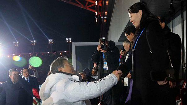 Güney Kore'deki olimpiyatlara damga vuran fotoğraf