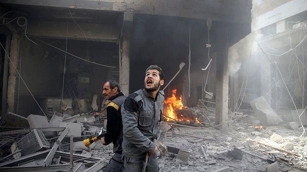 Linha ocidental da Síria debaixo de fogo