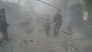 Besieged Syrians suffer their bloodiest week in years