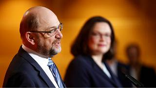 Party praises Schulz for refusing government role in coalition deal