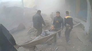 Suriye'de bombalar sivilleri vuruyor