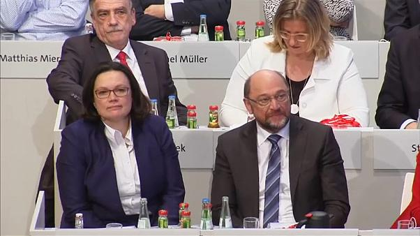 Germania: Andrea Nahles e Schulz