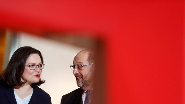 Andrea Nahles: Schulz görev sürecince önemli işler yaptı