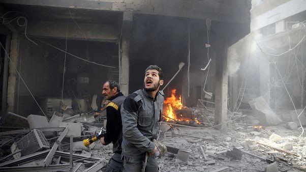 Syrien: Ost-Ghuta erlebt blutigste Woche seit 2015