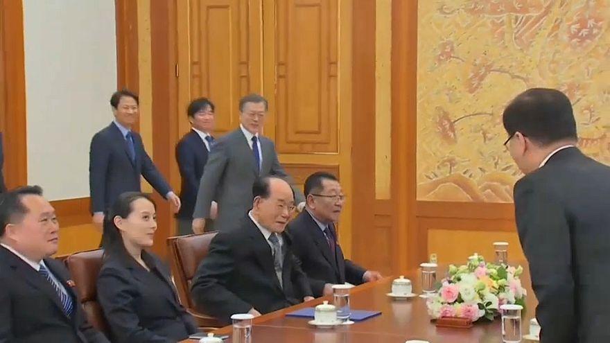 Встреча в Сеуле