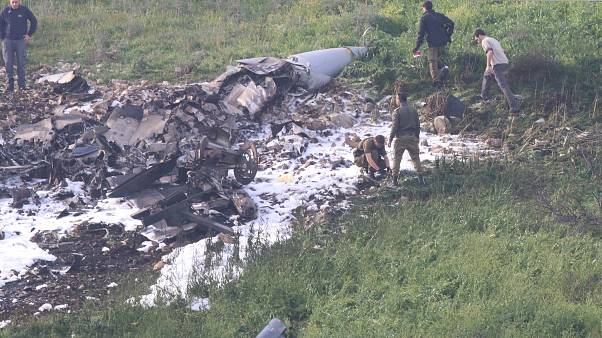 Iran denies involvement in downed Israeli fighter jet