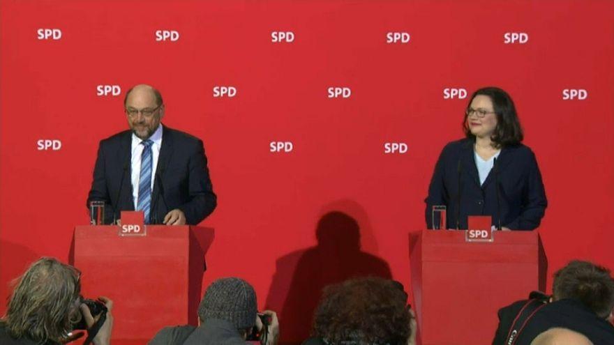 Schulz recibe el respaldo de su formación