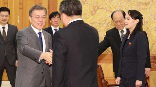 Líderes das duas Coreias podem reunir-se em breve