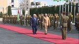 رئيس الوزراء الهندي يصل إلى الأراضي الفلسطينية