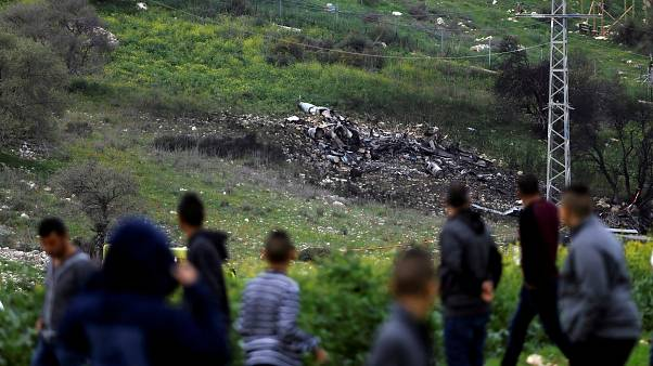 Suriye'de İsrail savaş uçağı düşürüldü