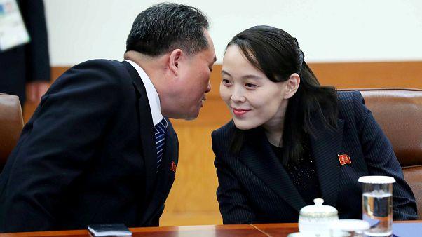 Kim Yo Jong entrega carta do irmão ao presidente da Coreia do Sul
