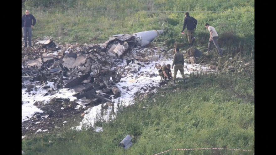 Fuerzas sirias derriban un F-16 israelí