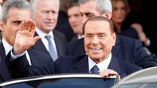Silvio Berlusconi in Rome, January 18 2018