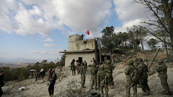 نیروهای کرد یک فروند هلیکوپتر ترکیه را سرنگون کردند