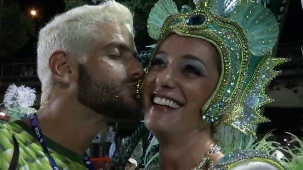 Resultado de imagen de Derroche de emociones en carnaval Río de Janeiro
