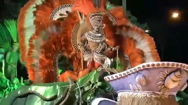 Carnaval já está em marcha na Marquês de Sapucaí