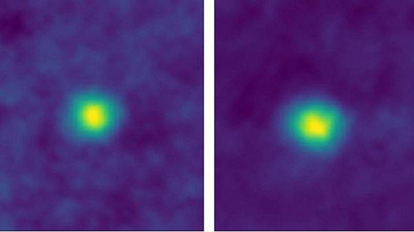 """صور التقطتها مركبة الفضاء نيو هورايزون """" من نقطة هي الأبعد عن الأرض والشمس"""