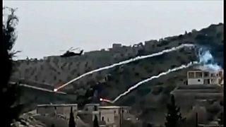Las milicias kurdosirias derriban un helicóptero turco