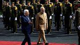 Indiai-palesztin csúcs