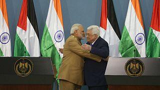 Hindistan Başbakanı Modi Filistin'de