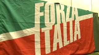 """""""Forza Italia"""" começa campanha em Roma"""