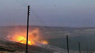 Elicottero turco si schianta al confine siriano