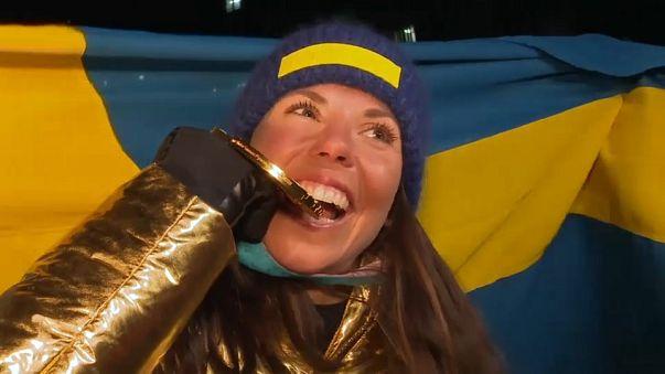 La sueca Kalla, primer oro de Pyeongchang 2018