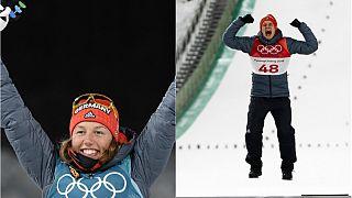 Winterspiele in Pyeongchang: Zweimal Gold für Deutschland