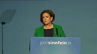 Mary Lou McDonald asume la presidencia del Sinn Féin