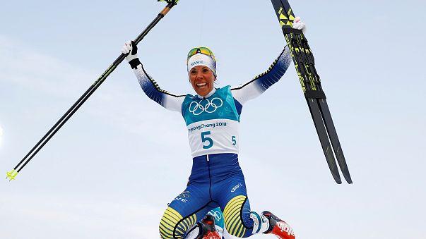 Alla svedese Charlotte Kalla il primo oro dei Giochi di Pyeongchang