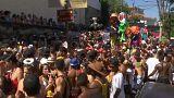 Karneval in Rio hat begonnen