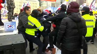 Южнокорейские активисты против сближения с КНДР