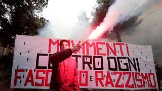 Italia: Macerata in piazza contro fascismo e razzismo