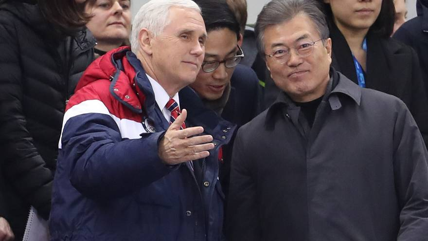 بنس: الولايات المتحدة وكوريا الجنوبية متفقتان على عزل كوريا الشمالية