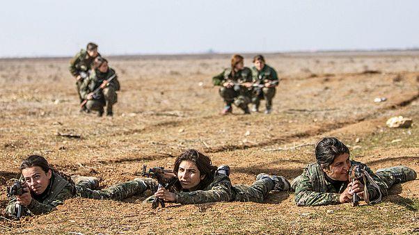 جنگجویان گروه «یگان های مدافع خلق»
