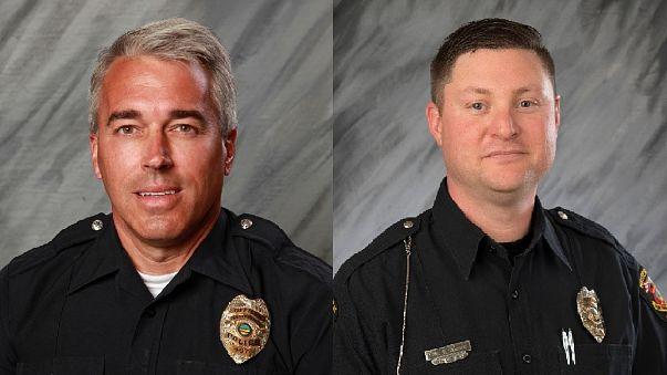 Dois polícias do Ohio abatidos a tiro