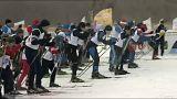 Tutta la Russia sugli sci