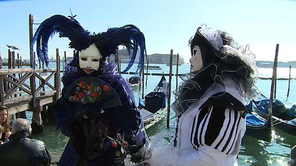 Veneza veste-se de Carnaval