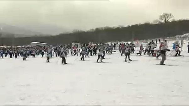 Ετήσιοι αγώνες σκι στη Ρωσία