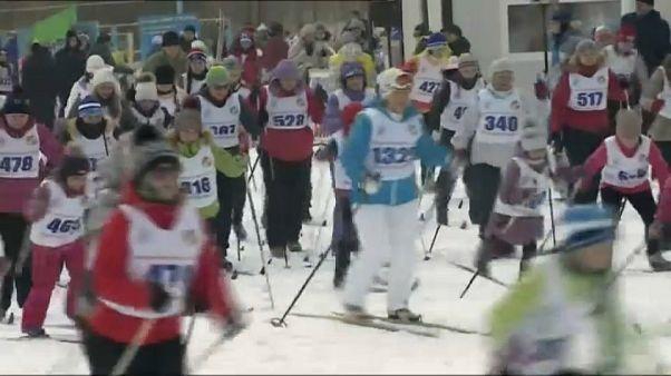 Más de un millón de esquiadores rusos apoyan a los deportistas vetados en Pyeongchang